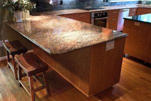 Counter granite