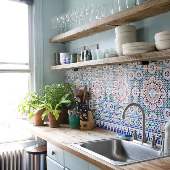 Kitchen Tiles Handmade handmade cement tiles | kitchen design concepts