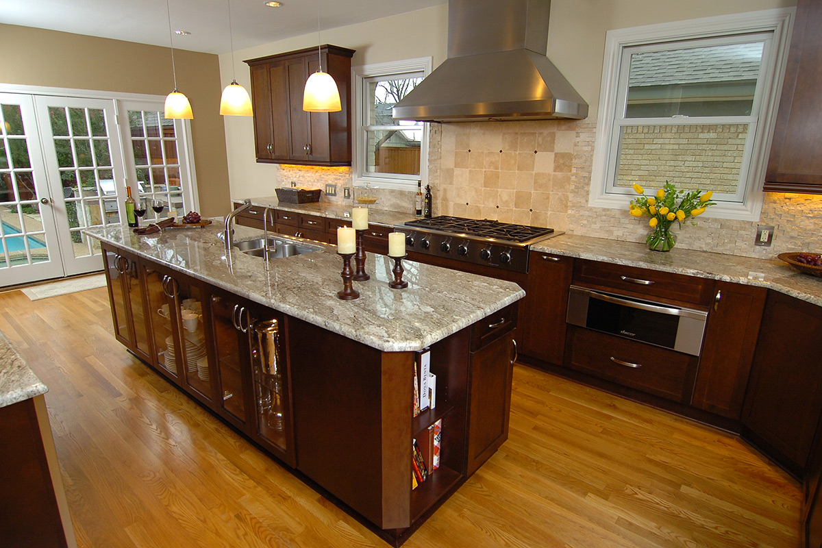 Transitional kitchens kitchen design concepts for Gallery kitchens kitchen design