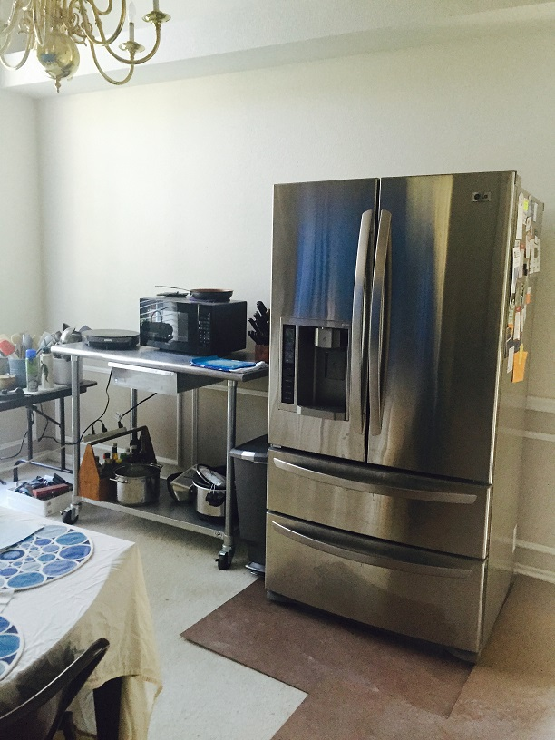 Setting Up The Temporary Kitchen Kitchen Design Concepts