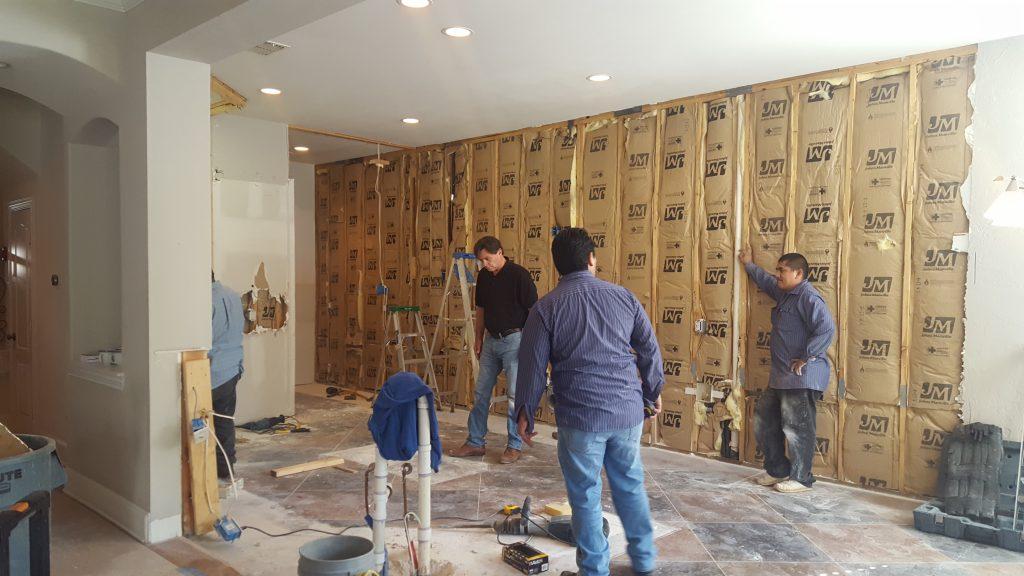 kitchen remodel demo day demolition