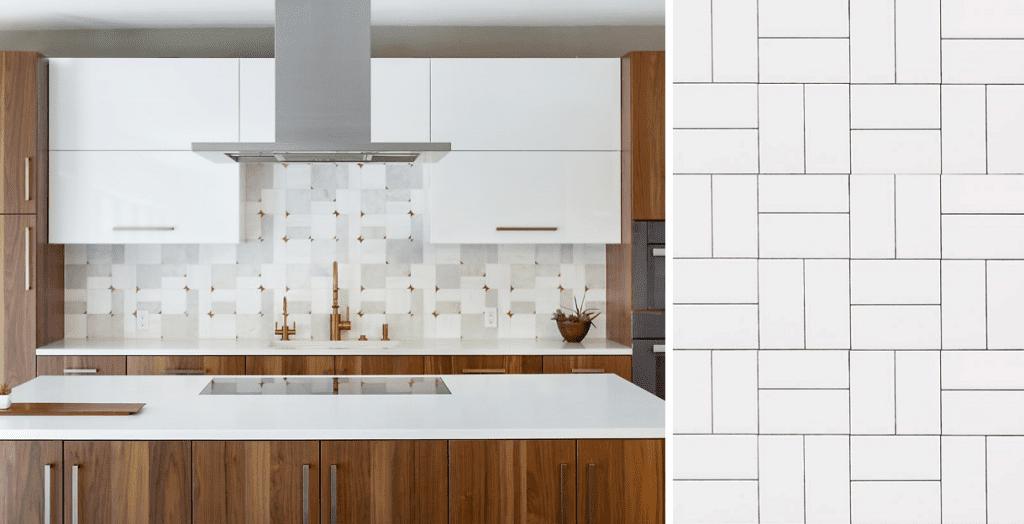 Tile Patterns In Design Kitchen